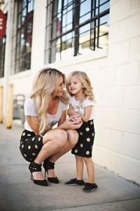 Hija y mami iguales