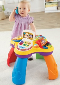 Mesa didactica Fisher Price 4 .Jugueteria Baby Kingdom