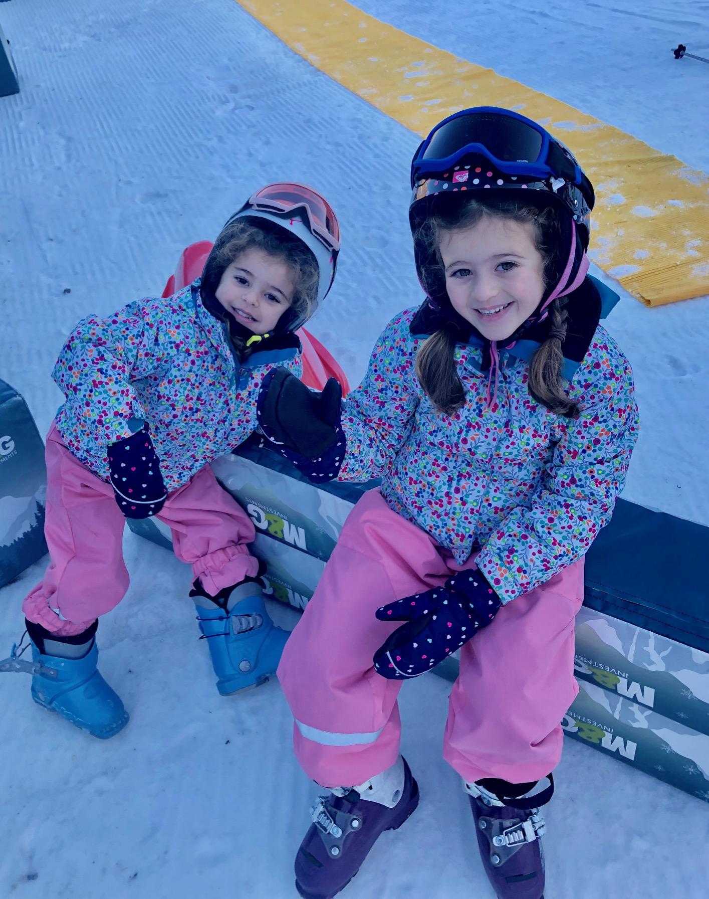 Nuestro primer viaje de esquí con las niñas