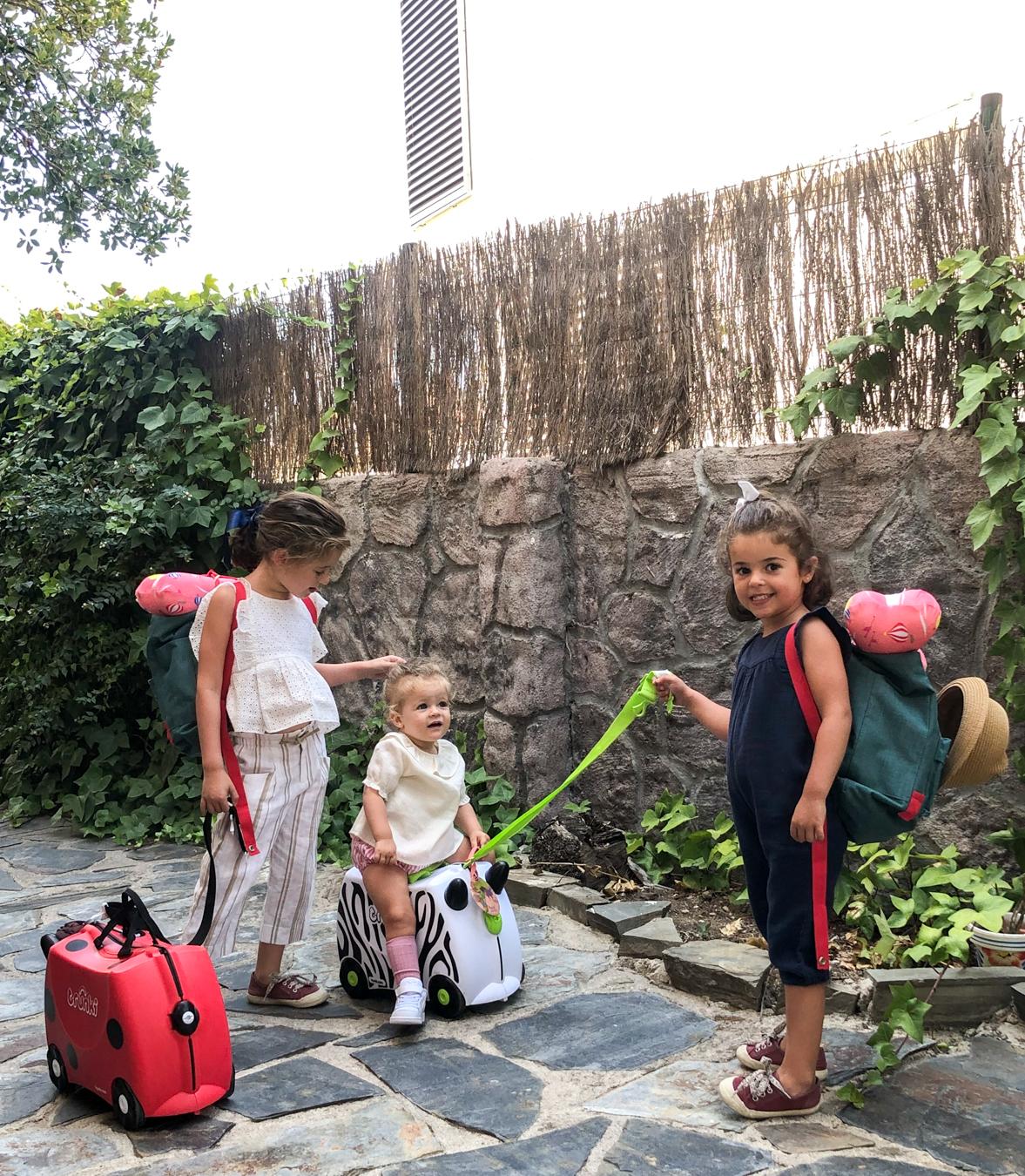 Viajando con niños: mis imprescindibles para ellas